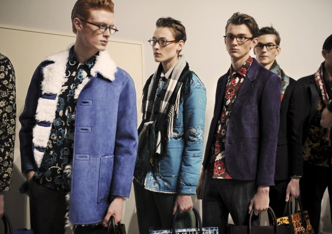 Backstage at the Burberry Prorsum Menswear Autumn_Winter 2015 Sho_001